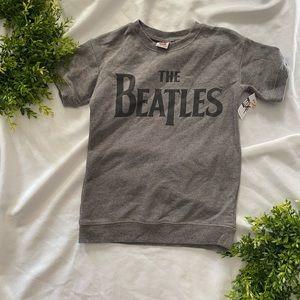 NWOT Beatles sweater children's xl grey junkfood